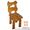 Купить мебель в деревенском стиле,  Стул Медведь #1222672