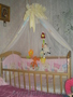 Кроватка дочурки