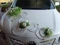украшение свадебного кортежа машин