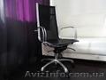 Кресло перфорированная кожа и хром для руководителя  - Изображение #3, Объявление #1112134