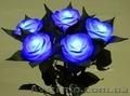 Светящаяся роза ночник,  светящаяся роза купить,  светящиеся цветы,  Киев