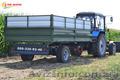 Прицеп тракторный зерновоз ТСП. Грузоподъёмность 8 - 30 тонн