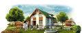 Строительство домов, коттеджей, дач, гаражей, бань - Изображение #8, Объявление #1513804